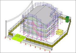 枠組足場W900(簡易版) | CAD-DATA.com